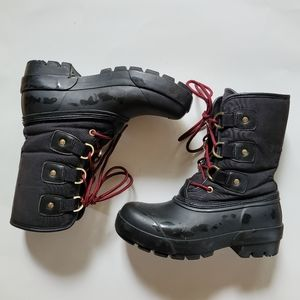 Hunter Cort Lace Up Winter Boots